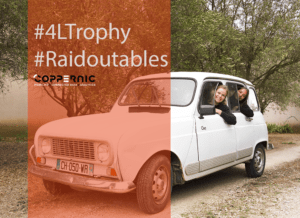 Coppernic au Raid 4L Trophy