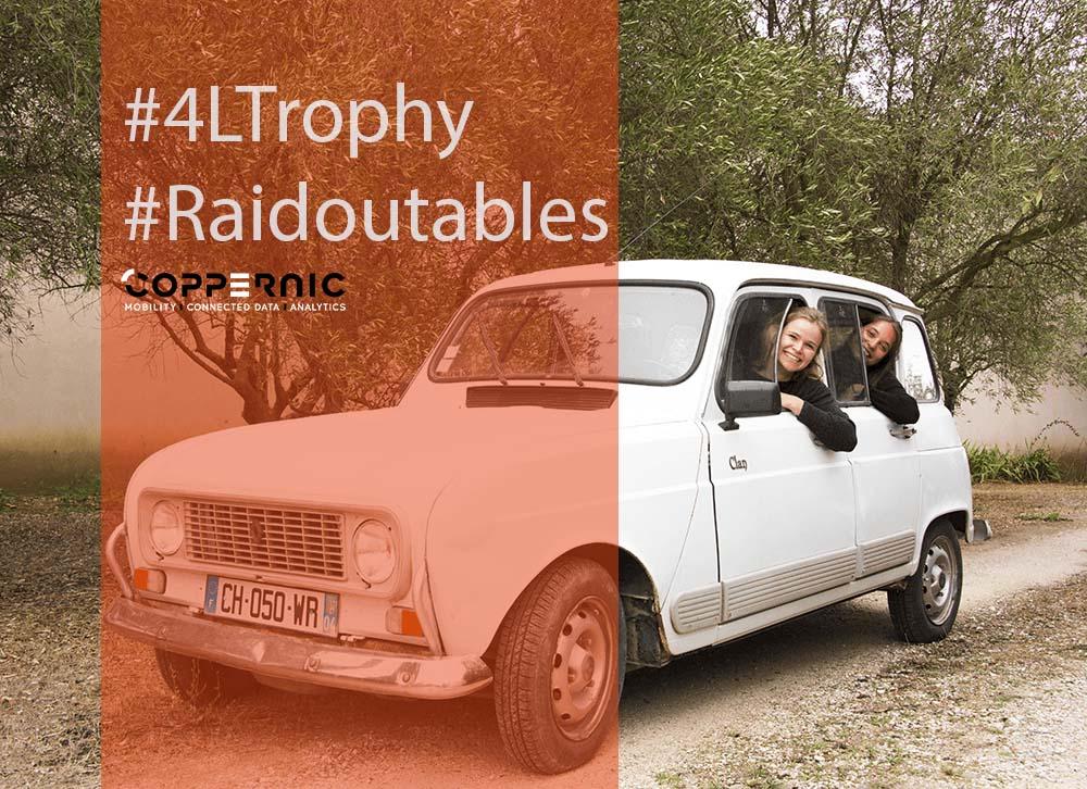 Coppernic sponsorise les Raidoutables pour le Raid 4L Trophy