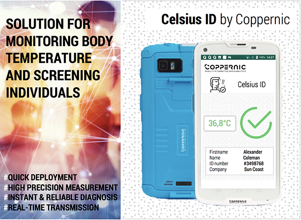 Coppernic launch its new Celsius ID solution