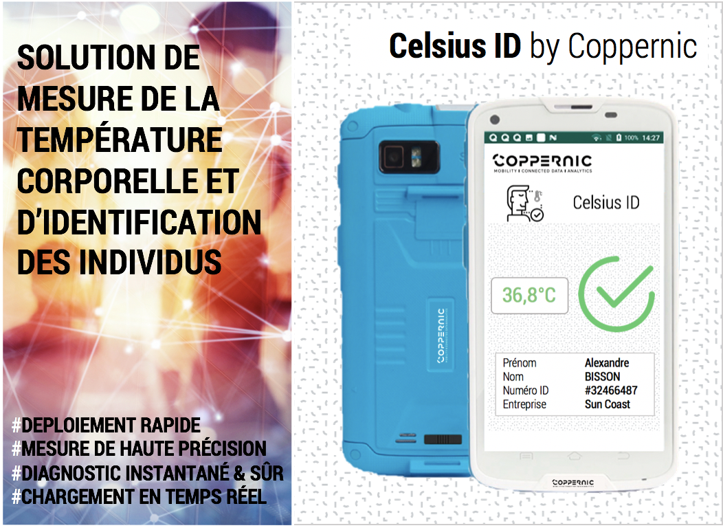 Coppernic lance sa nouvelle solution Celsius ID